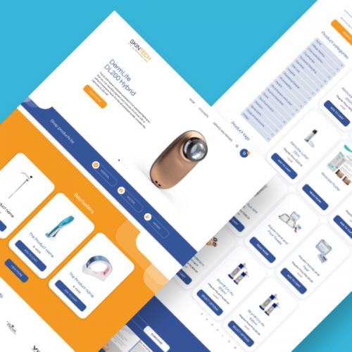Skintech – Website