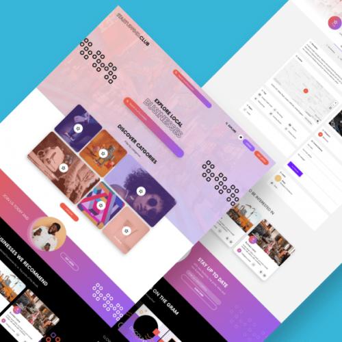 Startupfind.club – Website