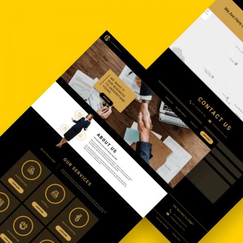 HJB Services – Website Design